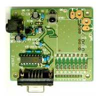 赤外線リモコン用標準受光ユニットRS-232C通信対応タイプ